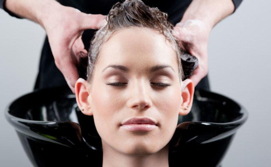 Lavar os cabelos antes de