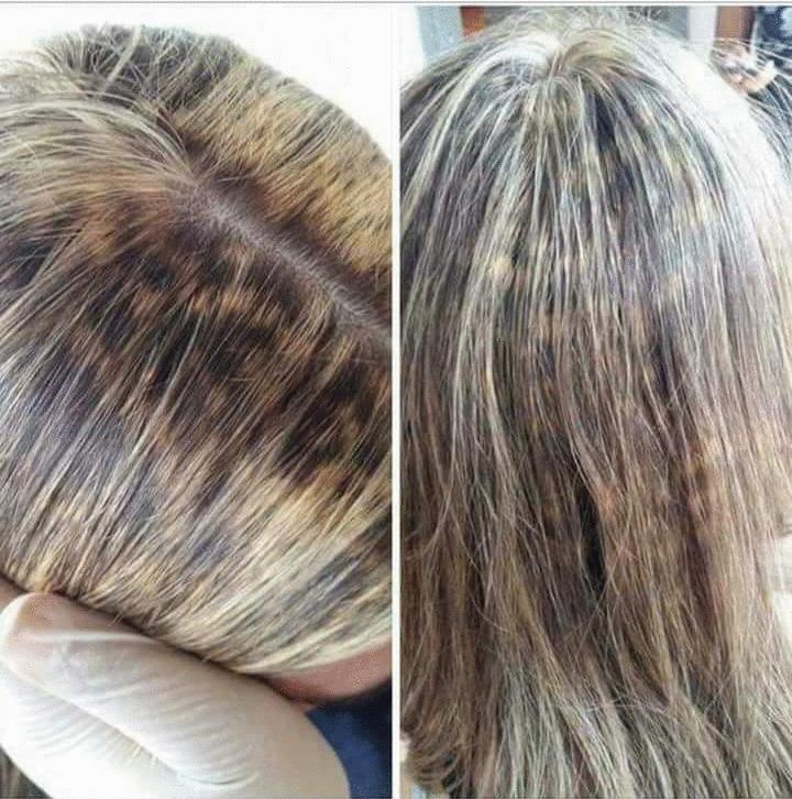Correção: Você sabe corrigir cabelo manchado?