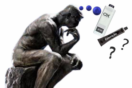 Qual a função da oxigenada na coloração?