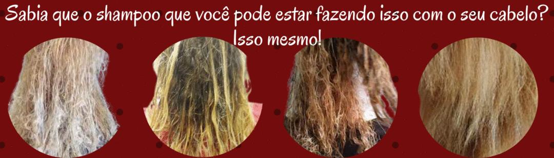 Você sabia que o shampoo que você usa na sua casa pode danificar o seu cabelo?