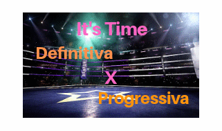Definitiva e Progressiva, são a mesma coisa?