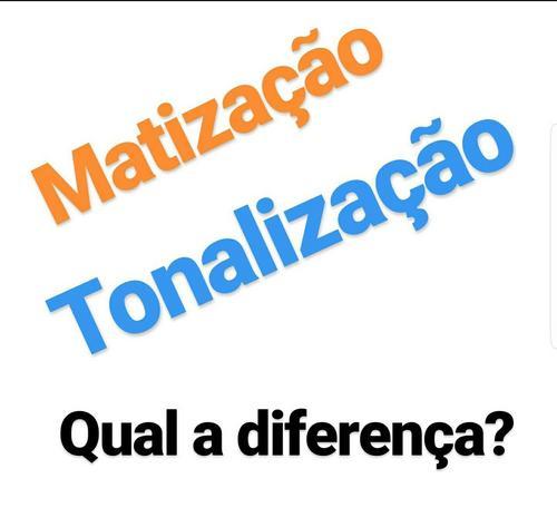 Matização e Tonalização, existe diferença?