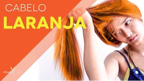 Cabelo laranja - Por que o cabelo puxa para o laranja??