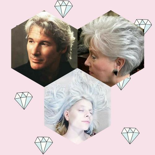 Como cobrir os cabelos brancos?